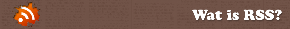 Was is een RSS-feed?